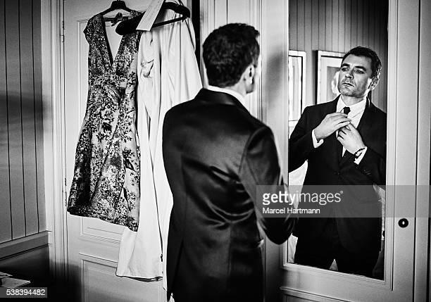 Actor Alex Brendemuhl is photographed for Self Assignment on May 15 2016 in Cannes France