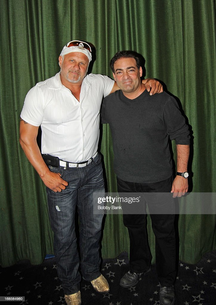 Actor Alex DiMenna and director Paul Borghese attend the 'Once Upon A Time in Brooklyn' screening at Resorts Casino Hotel on May 11, 2013 in Atlantic City, New Jersey.