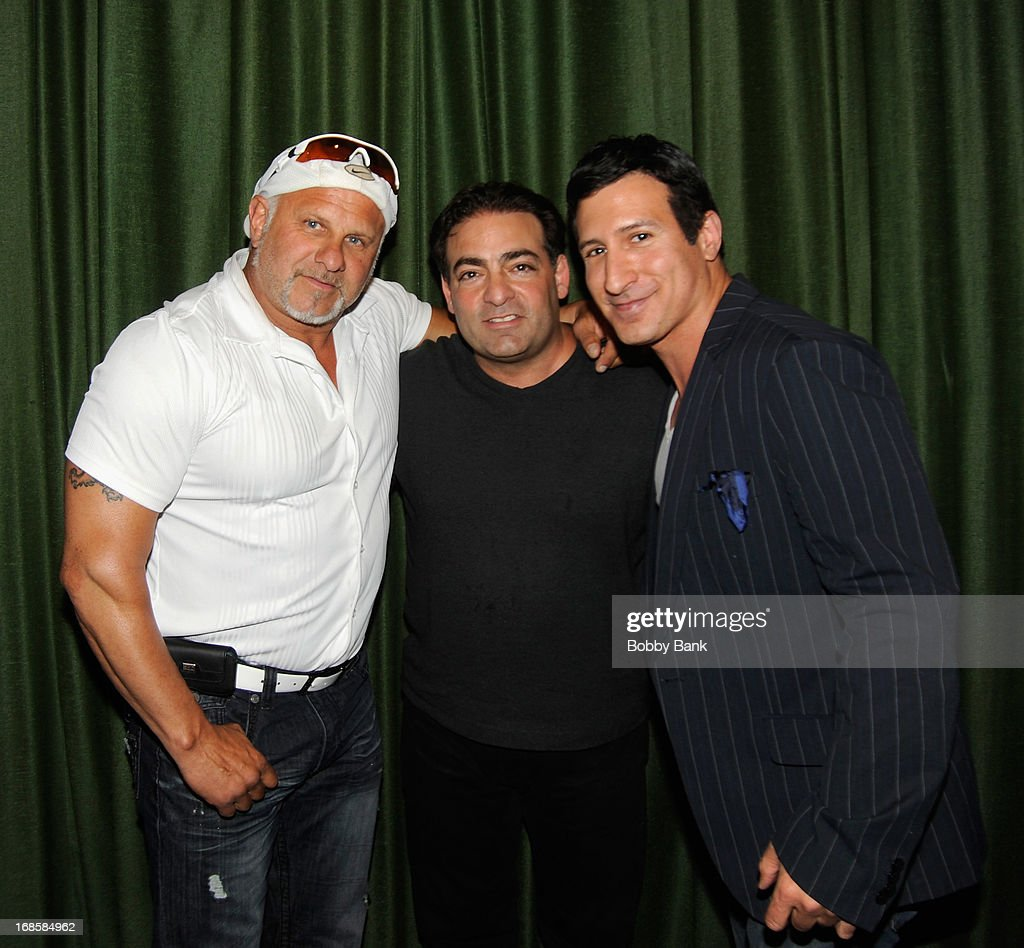 Actor Alex DiMenna, director Paul Borghese and actor William DeMeo attend the 'Once Upon A Time in Brooklyn' screening at Resorts Casino Hotel on May 11, 2013 in Atlantic City, New Jersey.