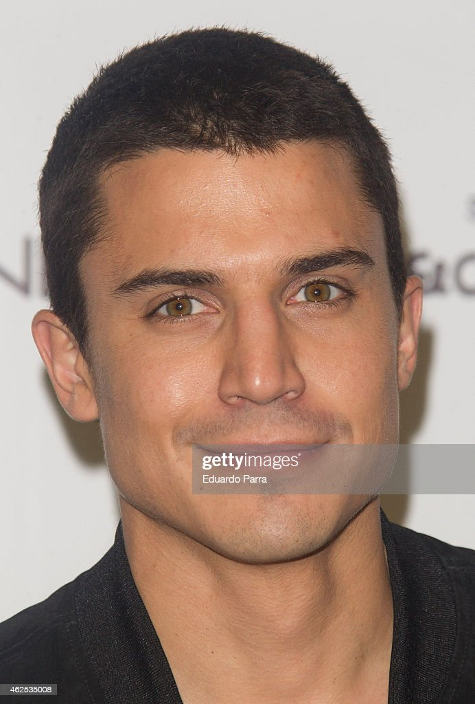 Actor Alex Gonzalez attends Hominem new collection presentation at Price circus on January 30, 2015 in Madrid, Spain.