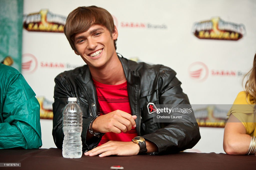 Actor Alex Heartman attends a press conference for Saban's Samurai Power Rangers at the 2011 San Diego Comic-Con International on July 23, 2011 in San Diego, California.