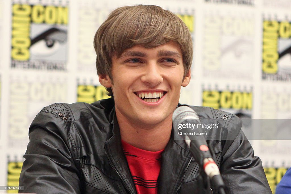 Actor Alex Heartman attends Saban's Samurai Power Rangers panel at the 2011 San Diego Comic-Con International on July 23, 2011 in San Diego, California.