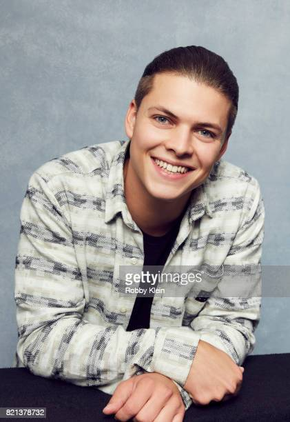 Actor Alex Hogh Andersen from History's 'Vikings' poses for a portrait during ComicCon 2017 at Hard Rock Hotel San Diego on July 21 2017 in San Diego...