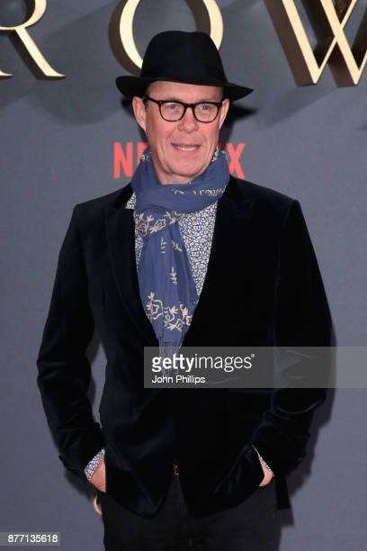 Actor Alex Jennings attends the World Premiere of season 2 of Netflix 'The Crown' at Odeon Leicester Square on November 21 2017 in London England