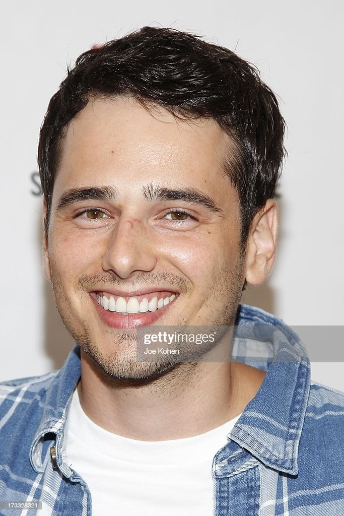 Actor Alex Kaluzhsky attends Abercrombie & Fitch Co. presents their 2013 'Stars On The Rise!' at The Grove on July 11, 2013 in Los Angeles, California.