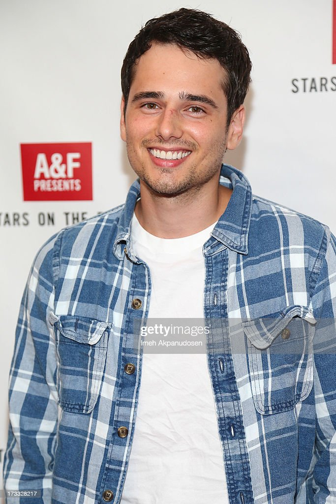 Actor Alex Kaluzhsky attends Abercrombie & Fitch's presentation of their 2013 Stars on the Rise at The Grove on July 11, 2013 in Los Angeles, California.