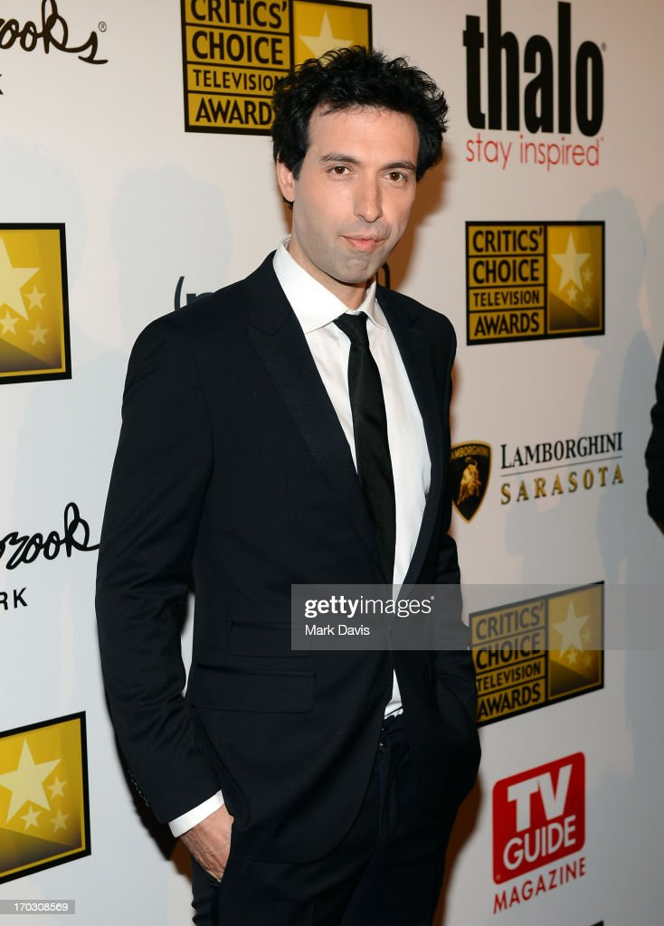 Actor Alex Karpovsky arrives at Broadcast Television Journalists Association's third annual Critics' Choice Television Awards at The Beverly Hilton Hotel on June 10, 2013 in Los Angeles, California.