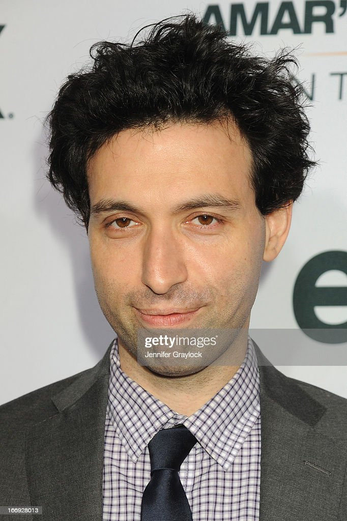 Actor Alex Karpovsky attends EPIX premiere of Amar'e Stoudemire IN THE MOMENT on April 18, 2013 in New York City.