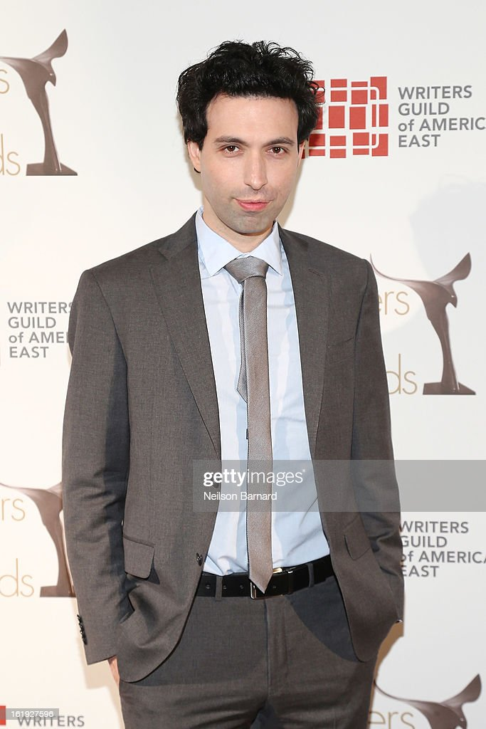 Actor <a gi-track='captionPersonalityLinkClicked' href=/galleries/search?phrase=Alex+Karpovsky&family=editorial&specificpeople=4506094 ng-click='$event.stopPropagation()'>Alex Karpovsky</a> attends the 65th annual Writers Guild East Coast Awards at B.B. King Blues Club & Grill on February 17, 2013 in New York City.