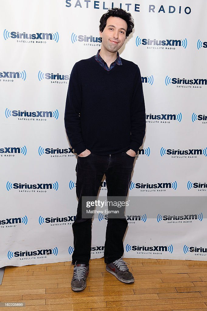 Actor <a gi-track='captionPersonalityLinkClicked' href=/galleries/search?phrase=Alex+Karpovsky&family=editorial&specificpeople=4506094 ng-click='$event.stopPropagation()'>Alex Karpovsky</a> visits SiriusXM Studios on February 20, 2013 in New York City.