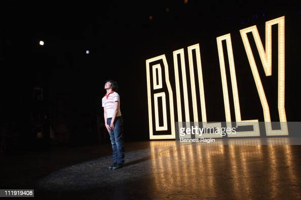 Actor Alex Ko performs during the celebration of the 1000th performance of 'Billy Elliot' on Broadway at the Imperial Theatre on April 8 2011 in New...