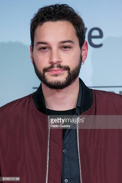 Actor Alex Martinez attends the 'El Faro de las Orcas' premiere at Capitol Cinema on December 13 2016 in Madrid Spain