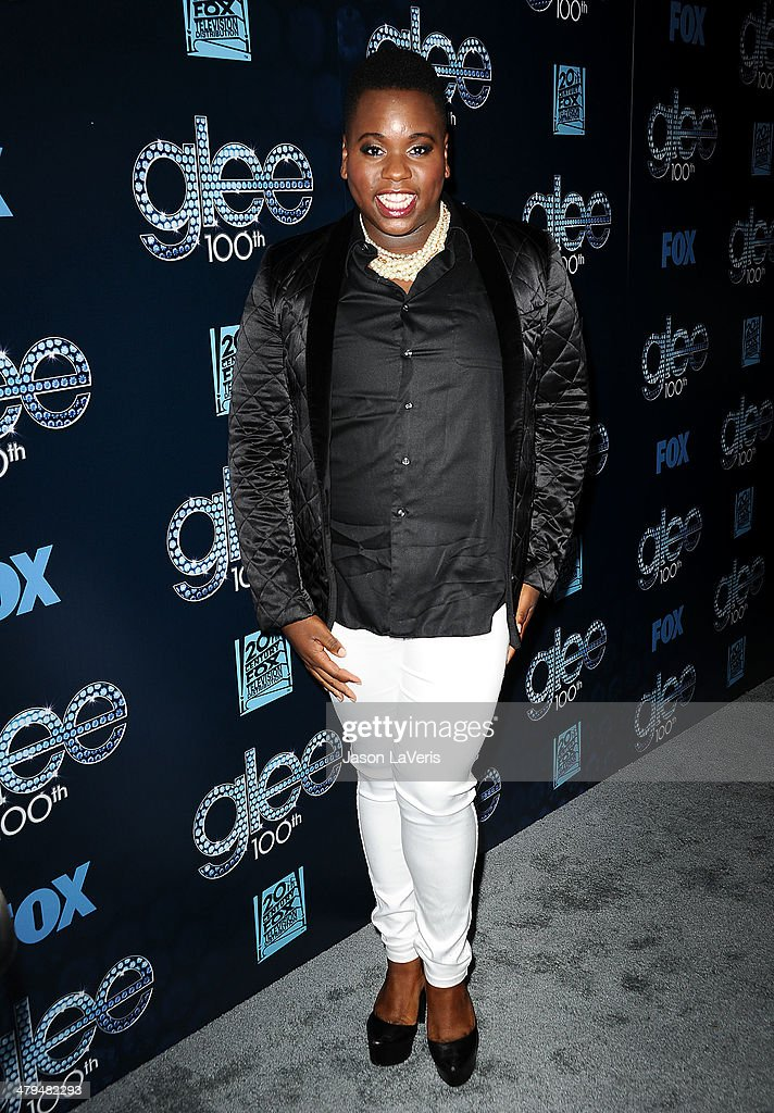 Actor Alex Newell attends the 'Glee' 100th episode celebration at Chateau Marmont on March 18 2014 in Los Angeles California