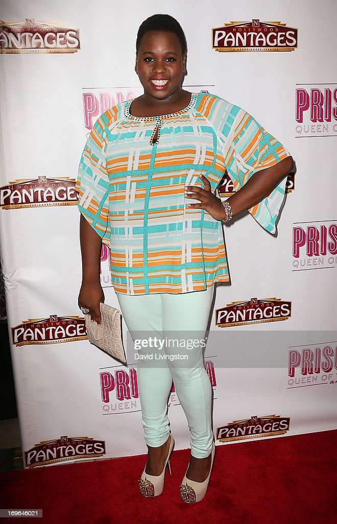 Actor Alex Newell attends the Los Angeles theatre premiere of 'Priscilla Queen of the Desert' at the Pantages Theatre on May 29, 2013 in Hollywood, California.