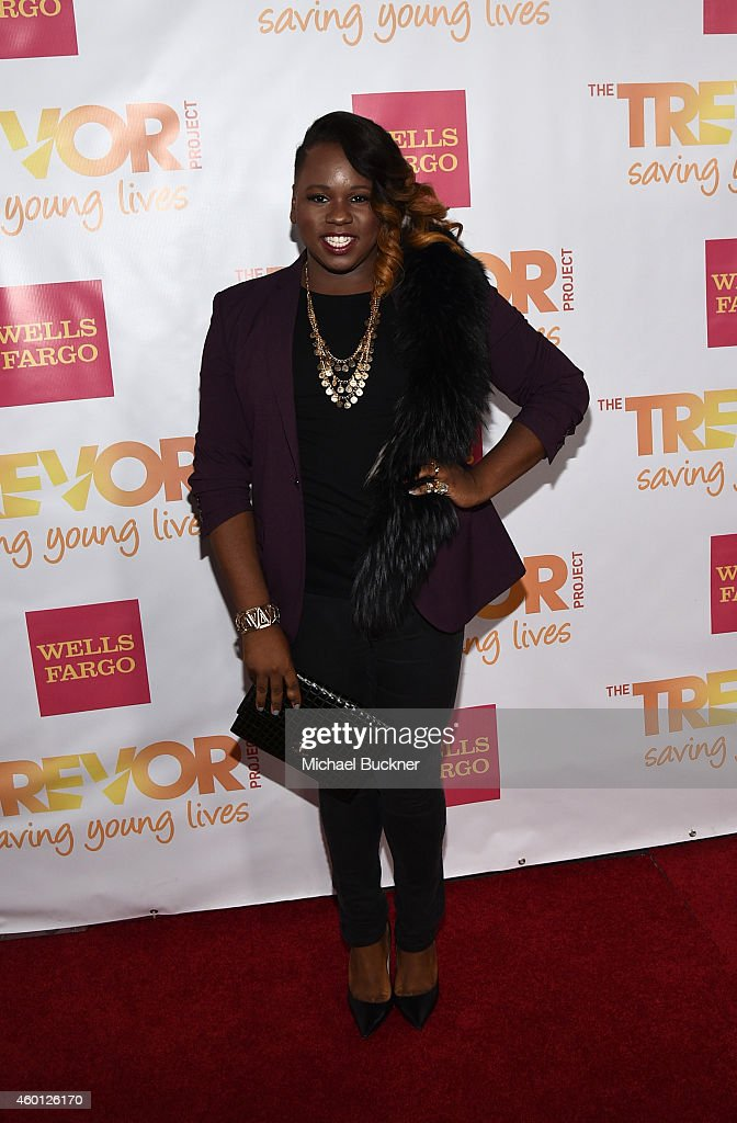 Actor Alex Newell attends 'TrevorLIVE LA' Honoring Robert Greenblatt Yahoo and Skylar Kergil for The Trevor Project at Hollywood Palladium on...