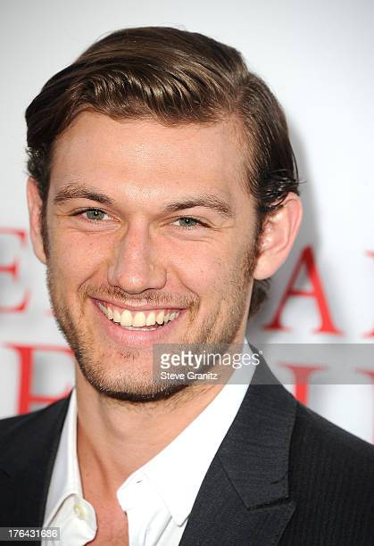 Actor Alex Pettyfer arrives at the Los Angeles premiere of 'Lee Daniels' The Butler' at Regal Cinemas LA Live on August 12 2013 in Los Angeles...