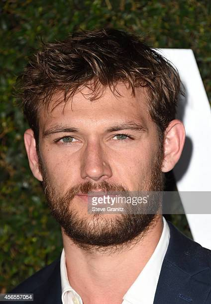 Actor Alex Pettyfer attends Claiborne Swanson Frank's Young Hollywood book launch hosted by Michael Kors at Private Residence on October 2 2014 in...