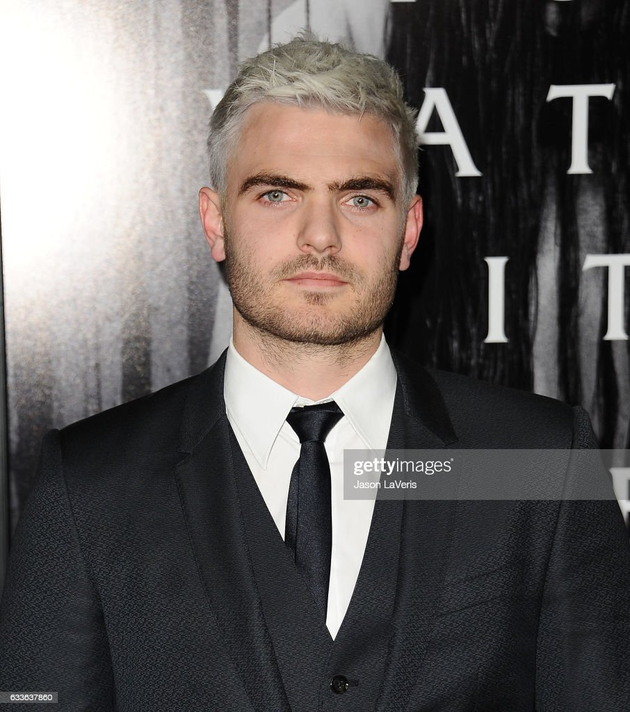 Actor Alex Roe attends a screening of 'Rings' at Regal LA Live Stadium 14 on February 2, 2017 in Los Angeles, California.