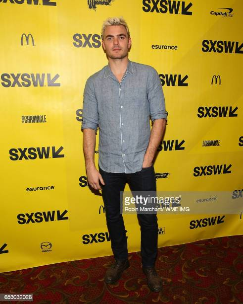 Actor Alex Roe attends Imperative Entertainment's 'Hot Summer Nights' SXSW world premiere at Paramount Theatre on March 13 2017 in Austin Texas