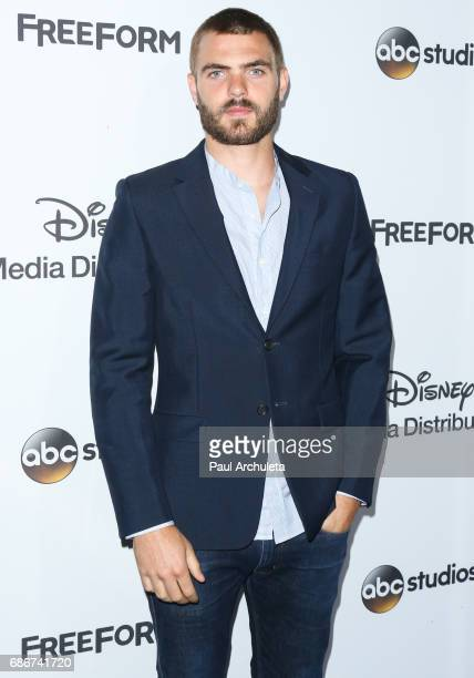 Actor Alex Roe attends the 2017 ABC/Disney Media Distribution International Upfront at Walt Disney Studio Lot on May 21 2017 in Burbank California