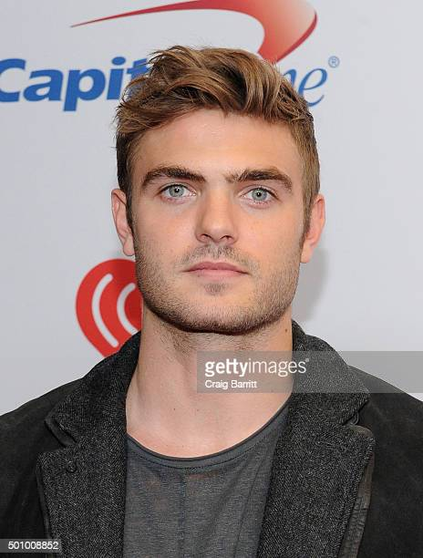 Actor Alex Roe attends Z100's Jingle Ball 2015 at Madison Square Garden on December 11 2015 in New York City