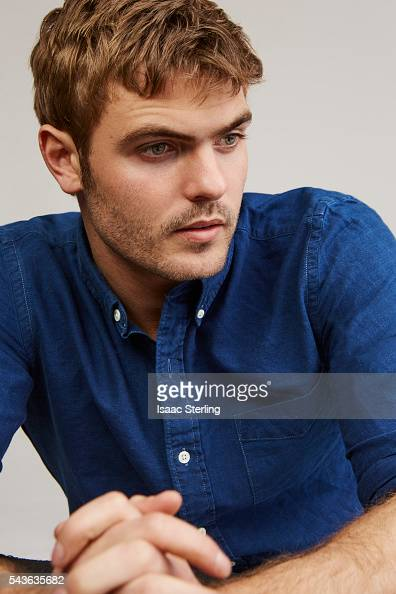 Actor Alex Roe is phot...