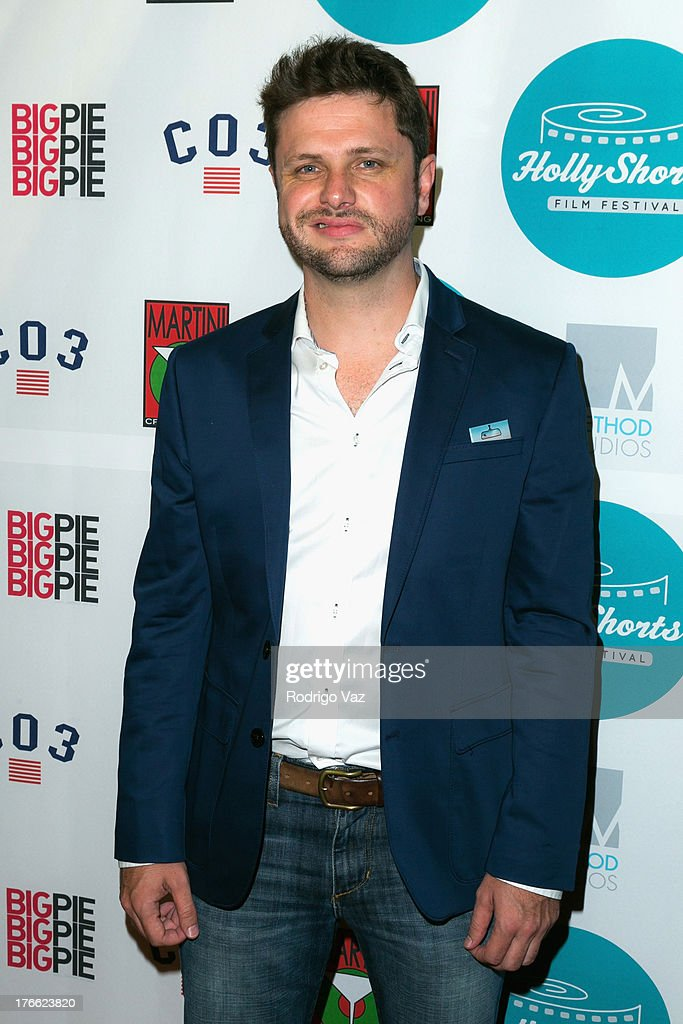 Actor Alex Romero attends the 9th Annual HollyShorts Film Festival Opening Night Arrivals at TCL Chinese Theatre on August 15, 2013 in Hollywood, California.