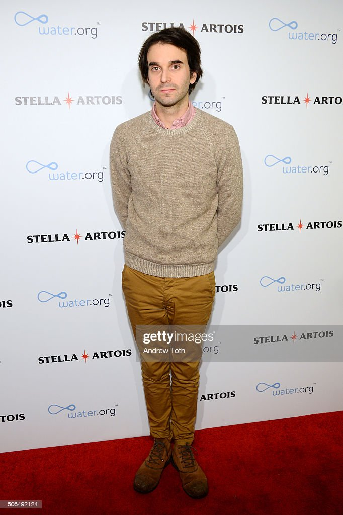 Actor Alex Ross Perry attends Stella Artois Filmmaker Lounge presents 'Joshy' supper on January 23 2016 in Park City Utah