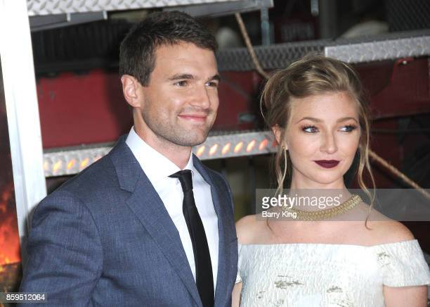 Actor Alex Russell attends the premiere of Columbia Pictures' 'Only The Brave' at Regency Village Theatre on October 8 2017 in Westwood California