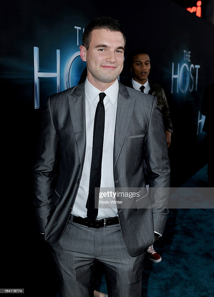 Actor Alex Russell attends the premiere of Open Road Films 'The Host' at ArcLight Cinemas Cinerama Dome on March 19, 2013 in Hollywood, California.