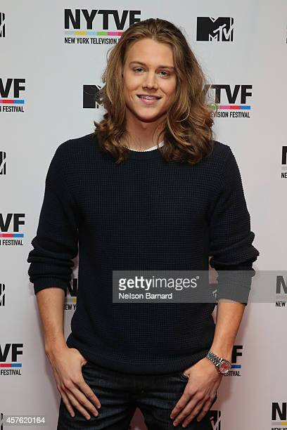 Actor Alex Saxon attends the New York Television Festival panel 'Teenage Wasteland Navigating High School With The Next MTV Generation' featuring...