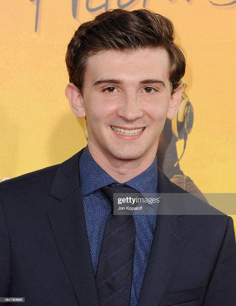 Actor Alex Shaffer arrives at the Los Angeles Premiere 'We Are Your Friends' at TCL Chinese Theatre on August 20 2015 in Hollywood California
