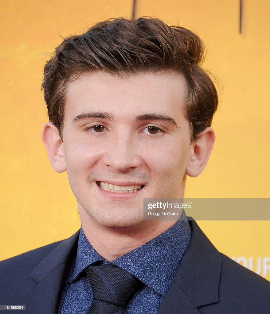 Actor Alex Shaffer arrives at the premiere of Warner Bros Pictures' 'We Are Your Friends' at TCL Chinese Theatre on August 20 2015 in Hollywood...