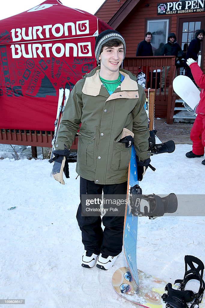 Actor Alex Shaffer attends Burton Learn To Ride - Day 2 on January 20, 2013 in Park City, Utah.