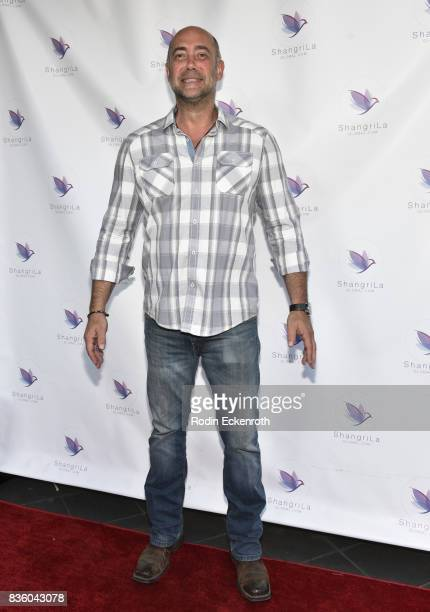 Actor Alex Skuby attends the ShangriLa global launch and popup store on August 20 2017 in Beverly Hills California