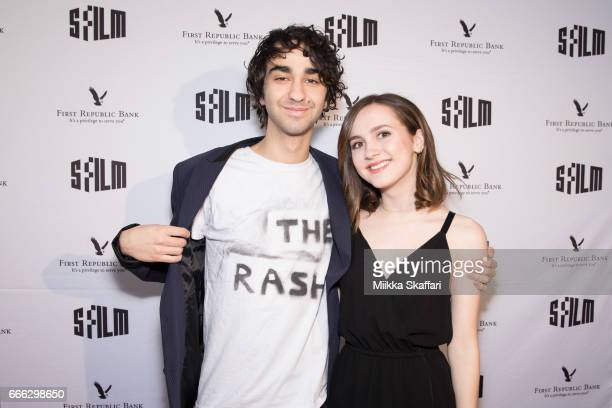 Actor Alex Wolff and actress Maude Apatow arrive at the premiere of 'The House of Tomorrow' at the 60th San Francisco International Film Festival at...