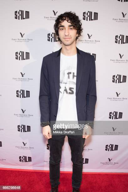 Actor Alex Wolff arrives at the premiere of 'The House of Tomorrow' at the 60th San Francisco International Film Festival at Yerba Buena Center for...