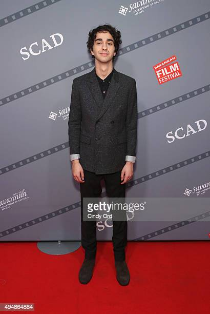 Actor Alex Wolff poses for a photo prior to QA for 'Coming Through the Rye' at Lucas Theatre during Day Six of 18th Annual Savannah Film Festival...