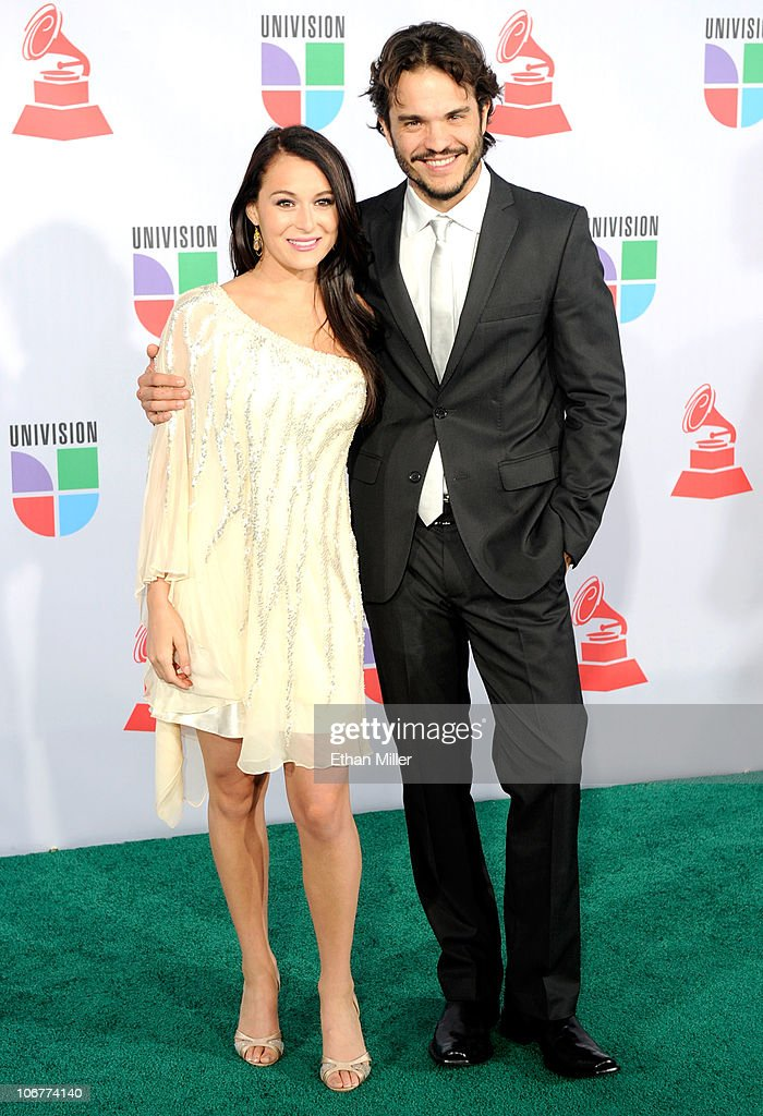 Actor Alexa Vega (L) and Kuno Becker arrive at the 11th annual Latin GRAMMY Awards at the Mandalay Bay Resort & Casino on November 11, 2010 in Las Vegas, Nevada.