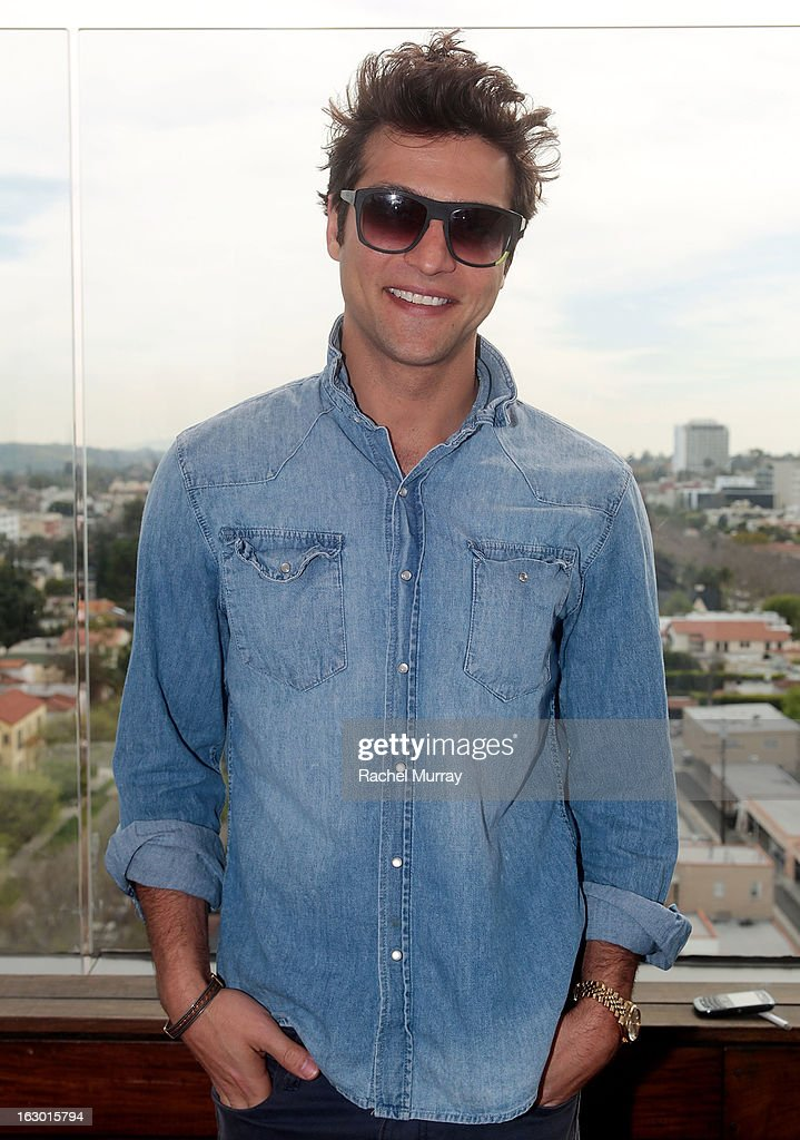 Actor Alexander DiPersia attends Flaunt Magazine and Samsung Galaxy celebrate The Plutocracy Issue release hosted by Russell Westbrook at Caulfield's Bar and Dining Room at Thompson Hotel on March 2, 2013 in Beverly Hills, California.
