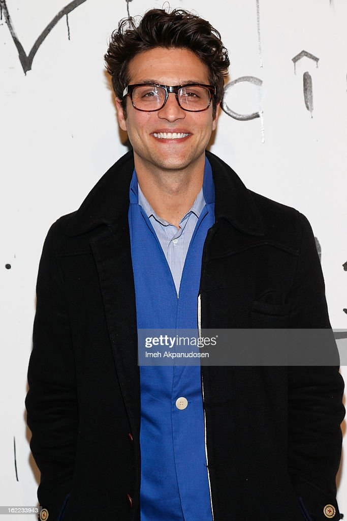 Actor Alexander DiPersia attends The Art Of Elysium's 6th Annual Pieces Of Heaven Powered By Ciroc Ultra Premium Vodka at Ace Museum on February 20, 2013 in Los Angeles, California.