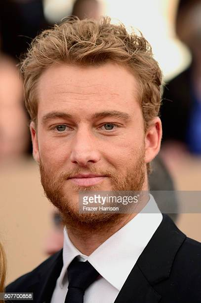 Actor Alexander Fehling attends the 22nd Annual Screen Actors Guild Awards at The Shrine Auditorium on January 30 2016 in Los Angeles California