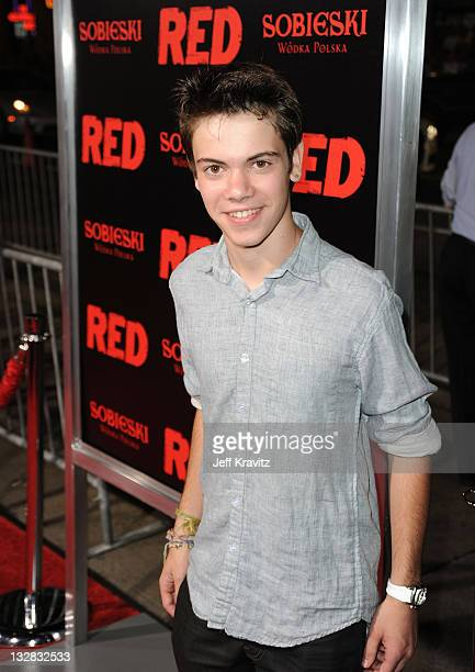 Actor Alexander Gould arrives at the Los Angeles Special Screening of 'RED' held at Grauman's Chinese Theatre on October 11 2010 in Hollywood...