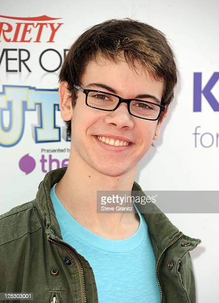 Actor Alexander Gould arrives at Variety's 4th Annual Power of Youth event at Paramount Studios on October 24 2010 in Hollywood California
