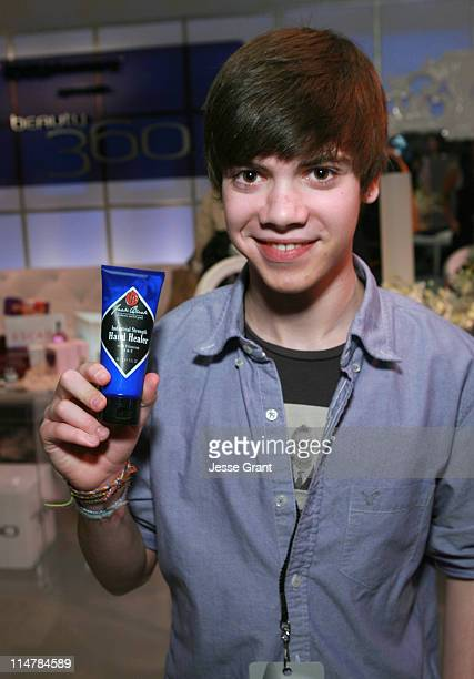 Actor Alexander Gould attends the CVS/Pharmacy Beauty 360 Suite at Access Hollywood 'Stuff You Must' Lounge Produced by On 3 Productions Celebrating...