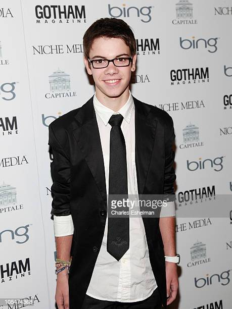 Actor Alexander Gould of 'Weeds' attends the 10th Annual Gotham Magazine gala at Capitale on October 14 2010 in New York City