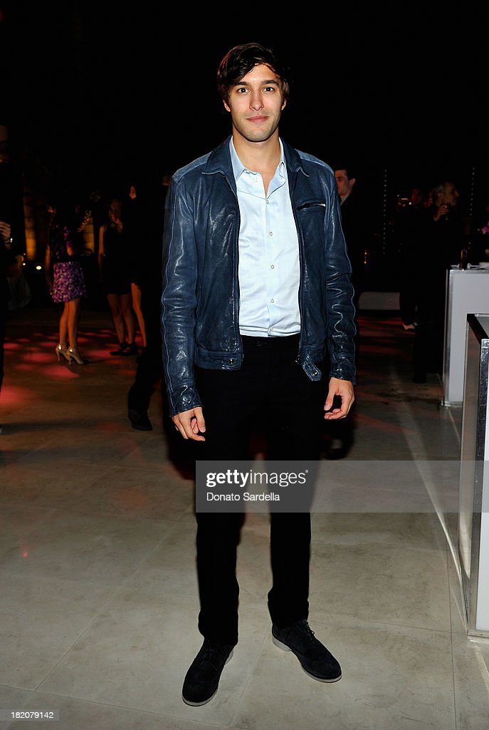 Actor <a gi-track='captionPersonalityLinkClicked' href=/galleries/search?phrase=Alexander+Koch+-+Actor&family=editorial&specificpeople=15376822 ng-click='$event.stopPropagation()'>Alexander Koch</a> attends the 11th Annual the 11th Annual Teen Vogue Young Hollywood Party With Emporio Armani With Emporio Armani on September 27, 2013 in West Hollywood, California.