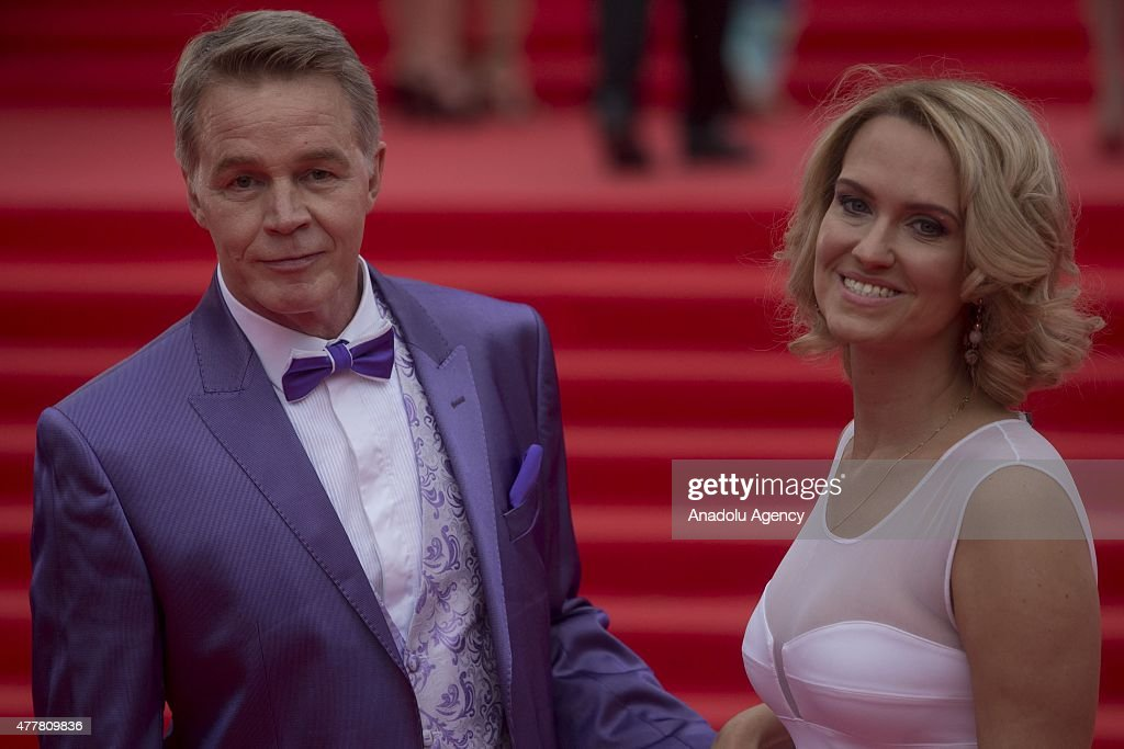 Actor Alexander Kuznetsov attends the opening ceremony of the 37th Moscow International Film Festival in Moscow Russia on June 2015