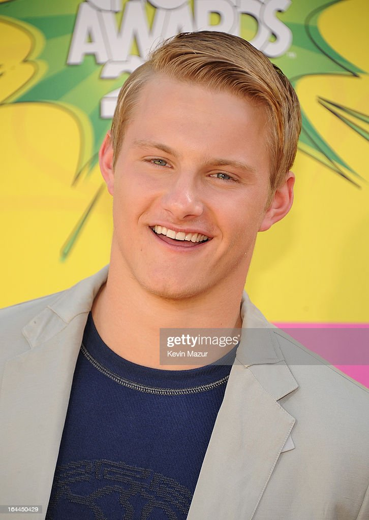 Actor Alexander Ludwig arrives at Nickelodeon's 26th Annual Kids' Choice Awards at USC Galen Center on March 23, 2013 in Los Angeles, California.