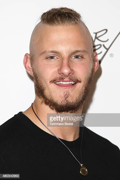Actor Alexander Ludwig attends the ComicCon International 2015 Playboy and Gramercy Pictures' Self/less Party on July 10 2015 in San Diego California